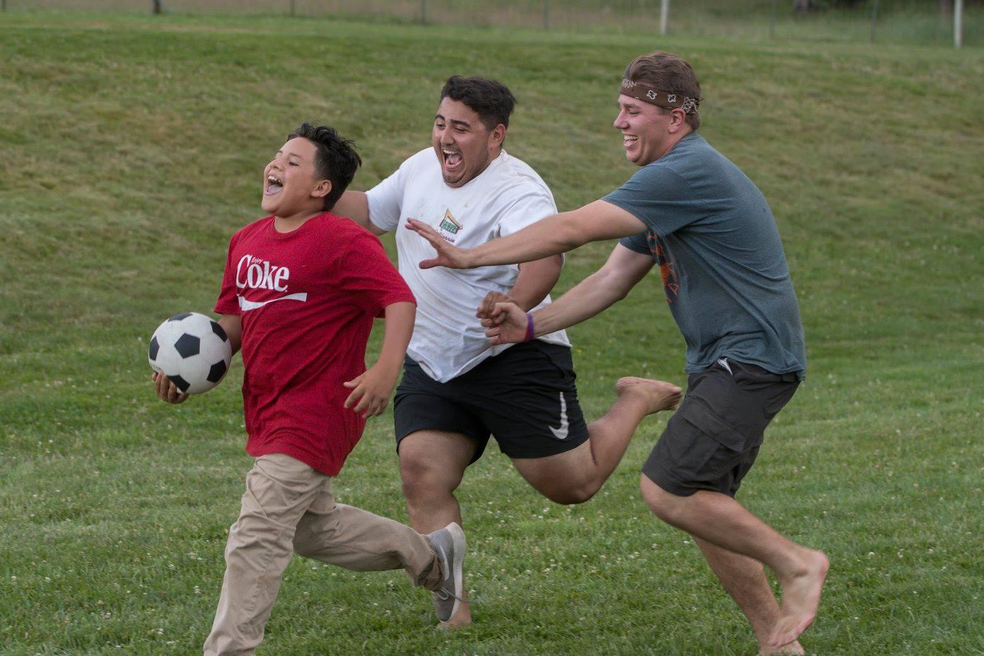 Counselors Chasing Kids